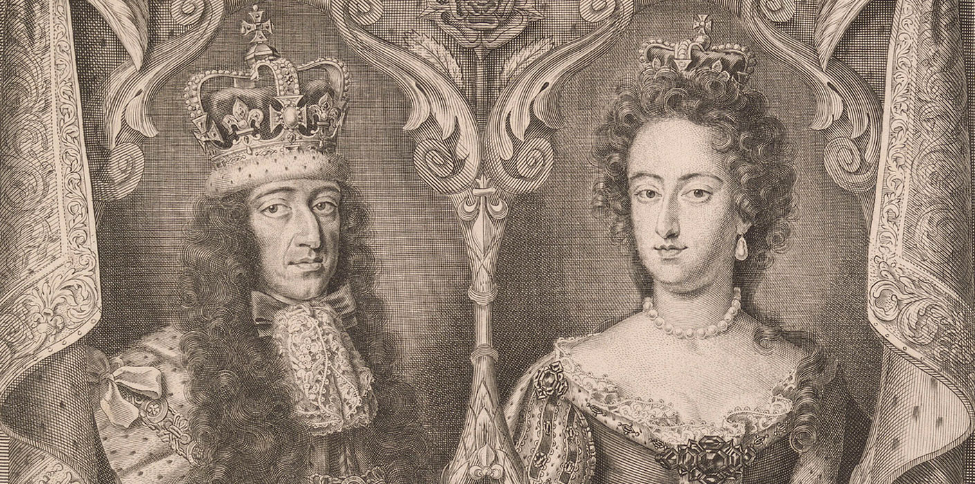 1689-1702) and Mary II (r. 1689-1694) | The Royal Family
