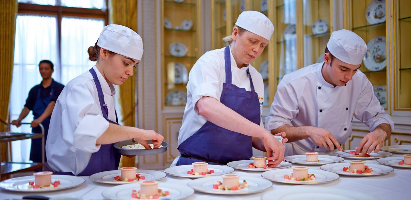 """The Royal kitchen team is an incredible group of people from all walks of life"""