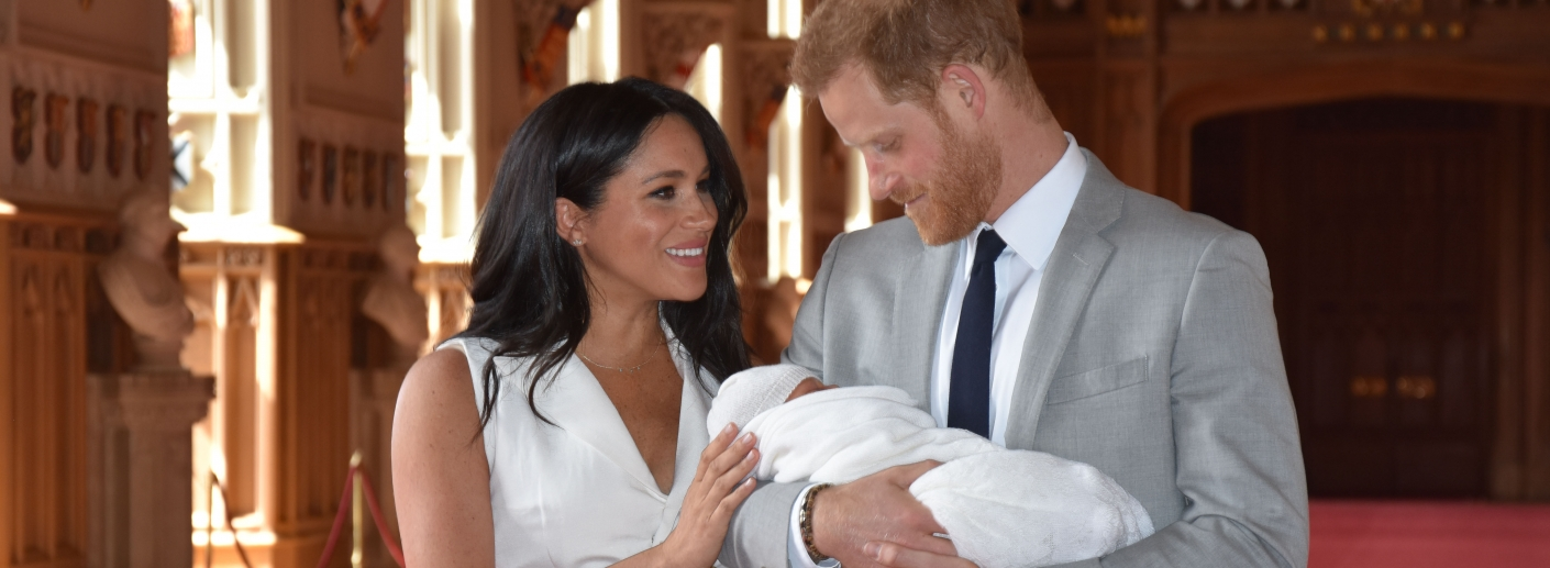 The Duke and Duchess of Sussex and Archie