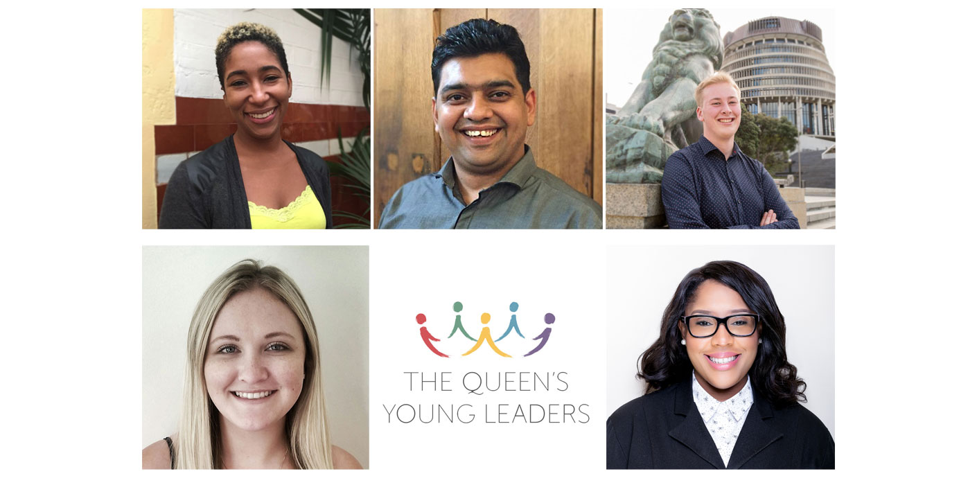 Previous winners of The Queen's Young Leader Award