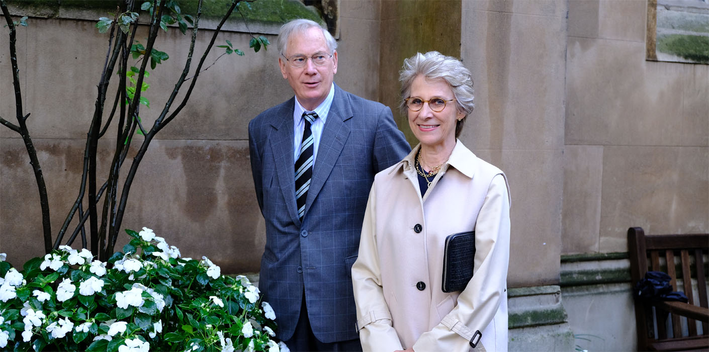 The Duke and Duchess of Gloucester reopen The Princess Alice Garden