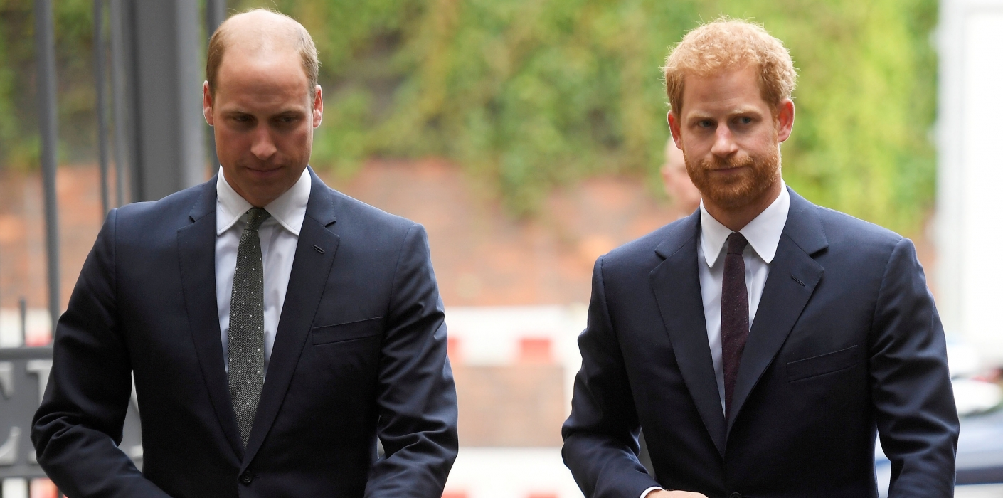 The Duke of Cambridge & Prince Harry visit the Support4Grenfell