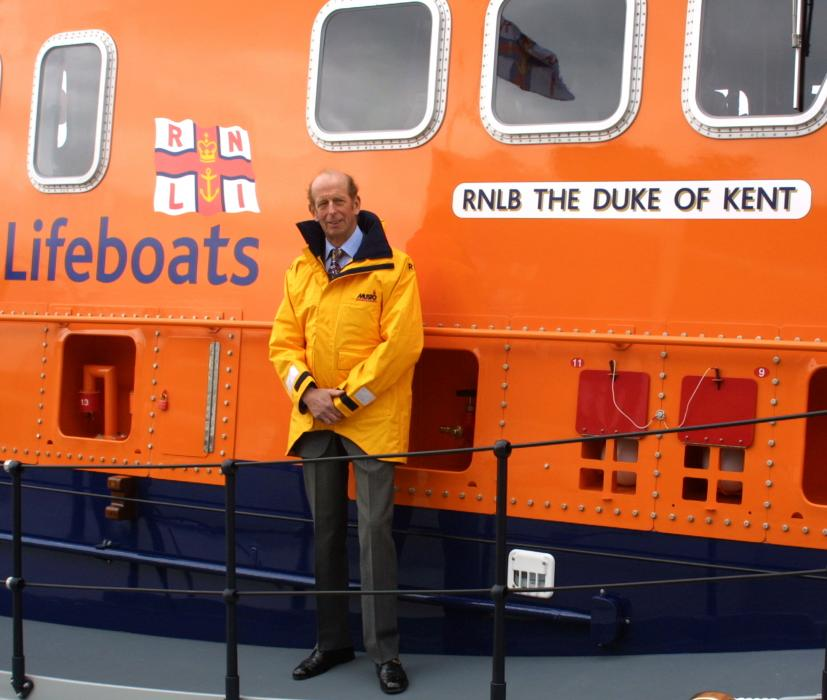 Read about The Duke of Kent's involvement with the RNLI over nearly 50 years
