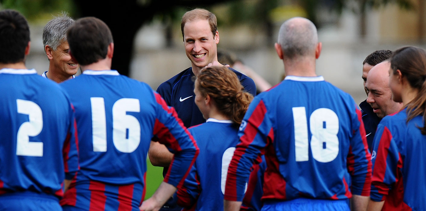 The Duke of Cambridge and sport