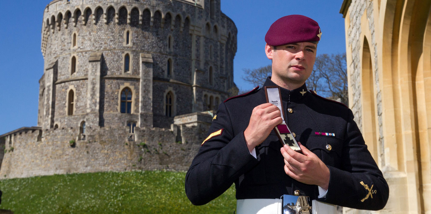 military honours and awards the royal family