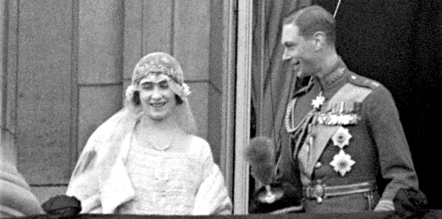 Prince Albert, Duke of York and Lady Elizabeth Bowes-Lyon Wedding - London