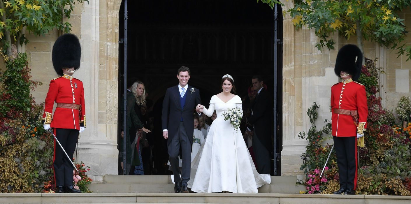 Princess Eugenie And Jack Brooksbank S Wedding Outfits To Be Displayed In Windsor Castle Exhibition The Royal Family
