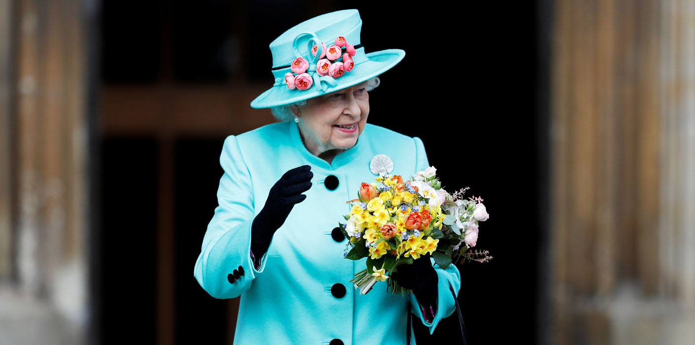 The Queen At Easter The Royal Family