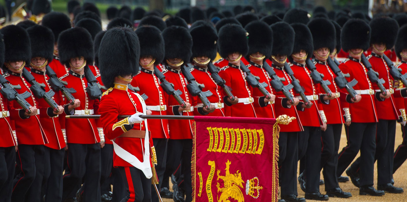 trooping the colour the royal family