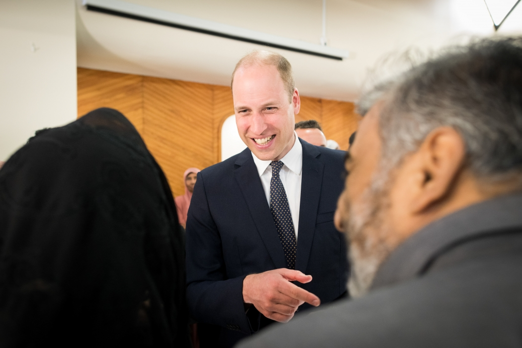 The Duke of Cambridge visits New Zealand