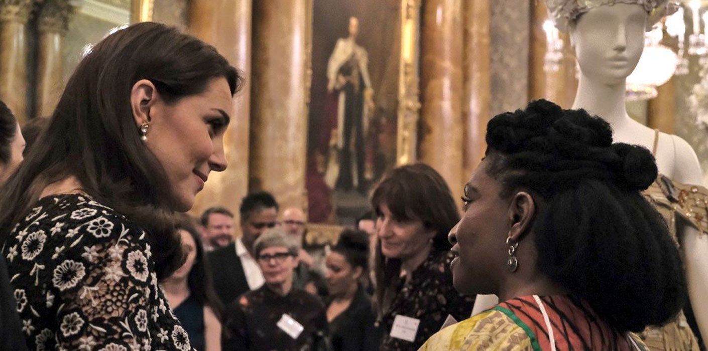 The Royals Hosted The Commonwealth Fashion Exchange Reception