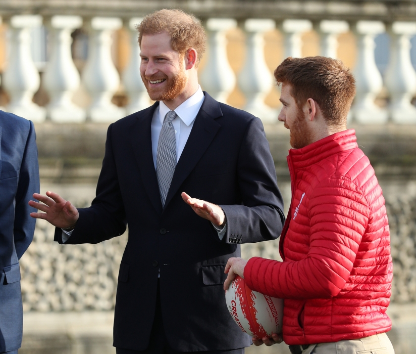 The Duke of Sussex hosts The Rugby League World Cup Draw live from Buckingham Palace