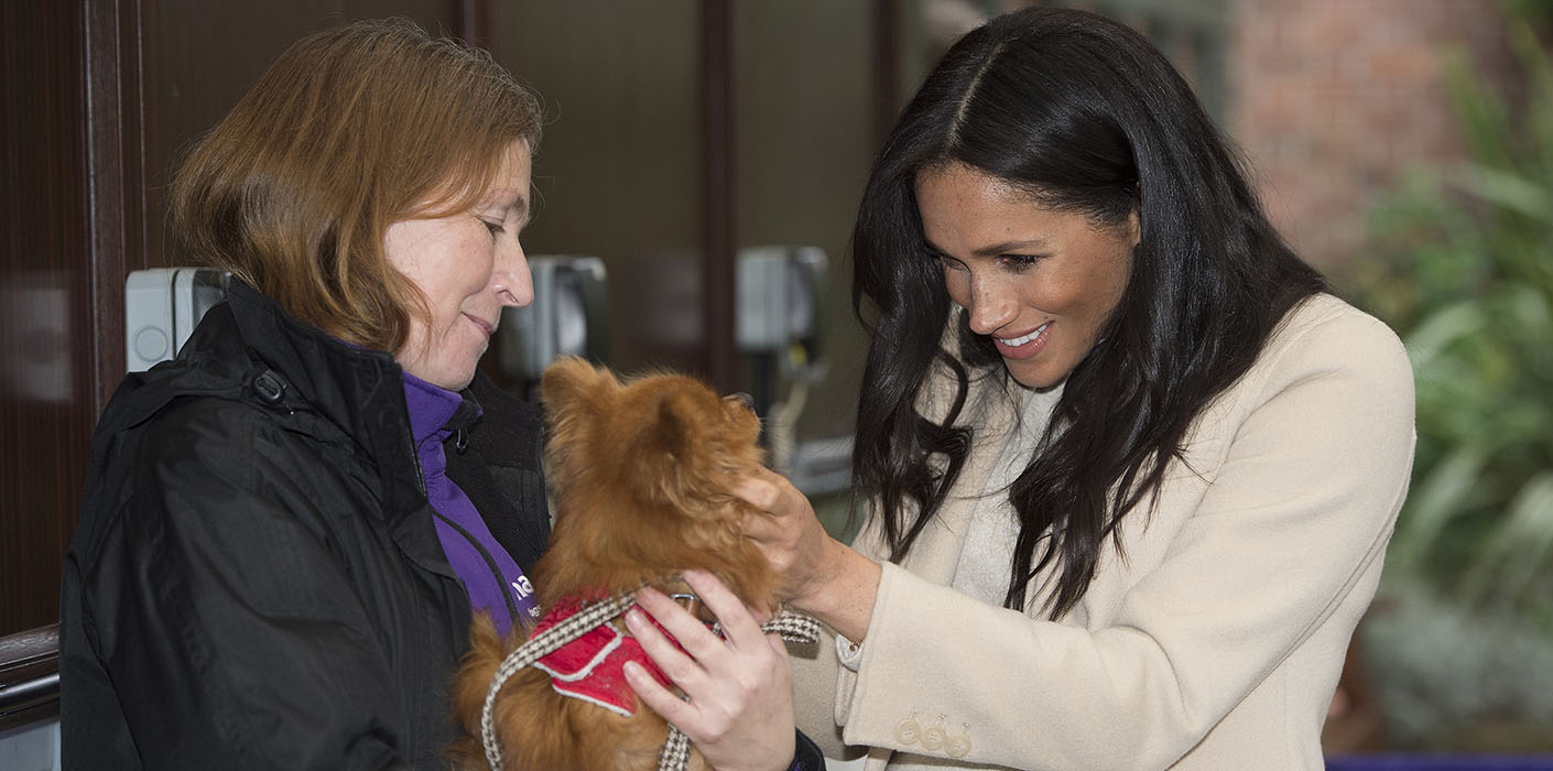 The Duchess of Sussex at Mayhew