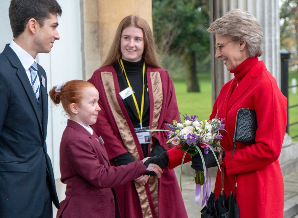 The Duchess of Gloucester visits Gatton Park