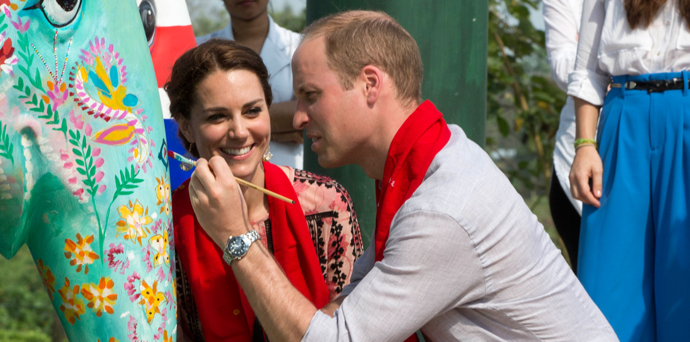 The fourth day of The Duke and Duchess of Cambridge's visit to India began with an open-air drive around Kaziranga National Park.