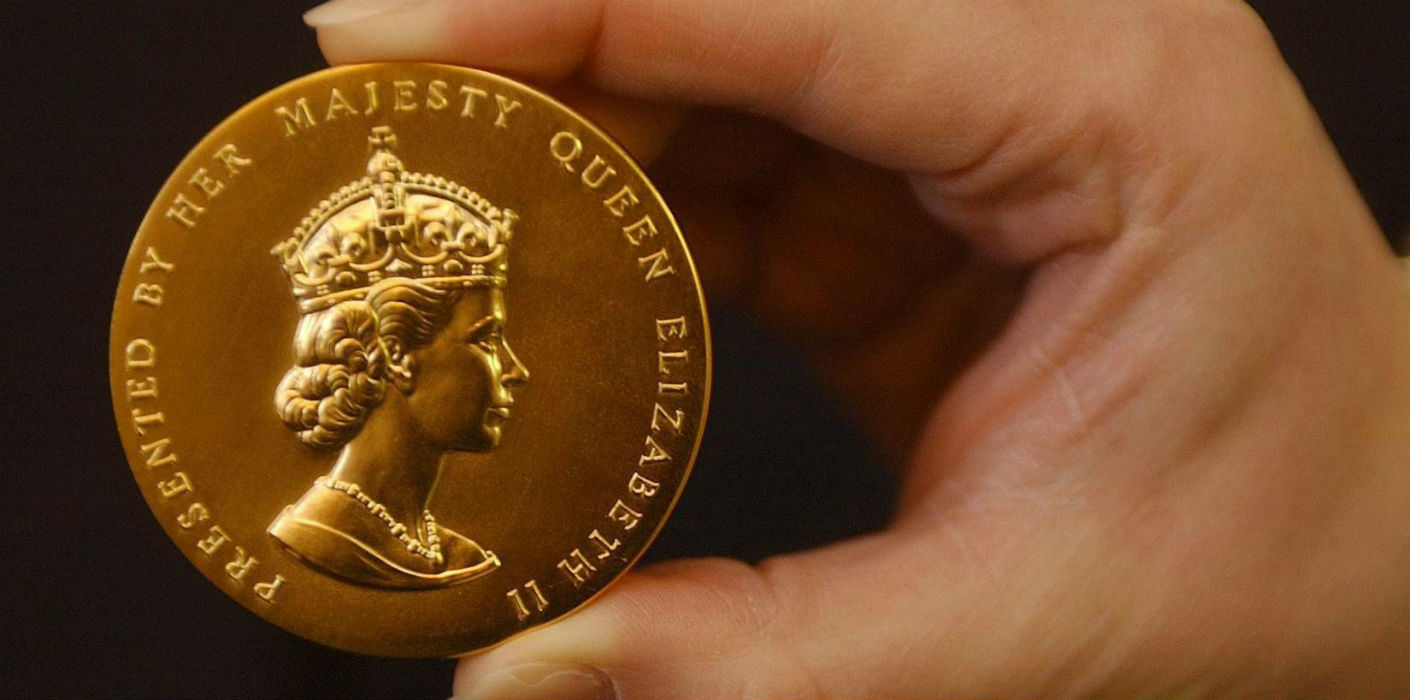 The Queen's Gold Medal for Poetry