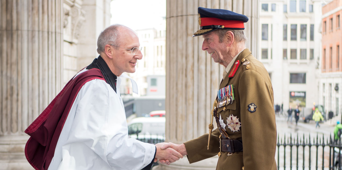 The Duke of Kent marks 25th anniversary of Operation Granby