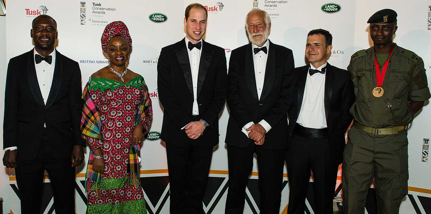 ee93196804b The Duke of Cambridge presents Tusk Conservation Awards