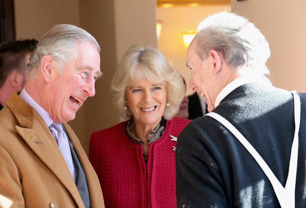 The Prince of Wales and The Duchess of Cornwall in Stamford Bridge, Yorkshire