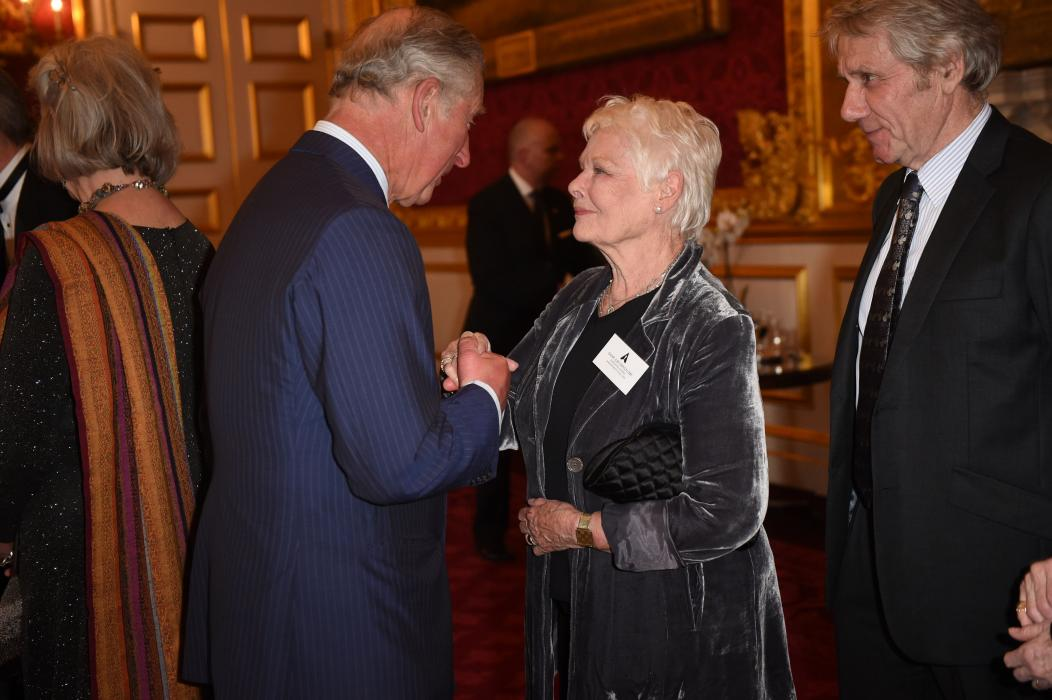 The Prince of Wales meets Dame Judi Dench