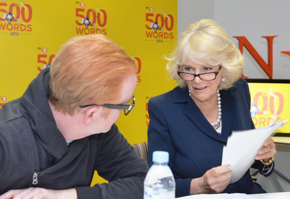 The Duchess joins Chris Evans to judge this year's 500 Words competition