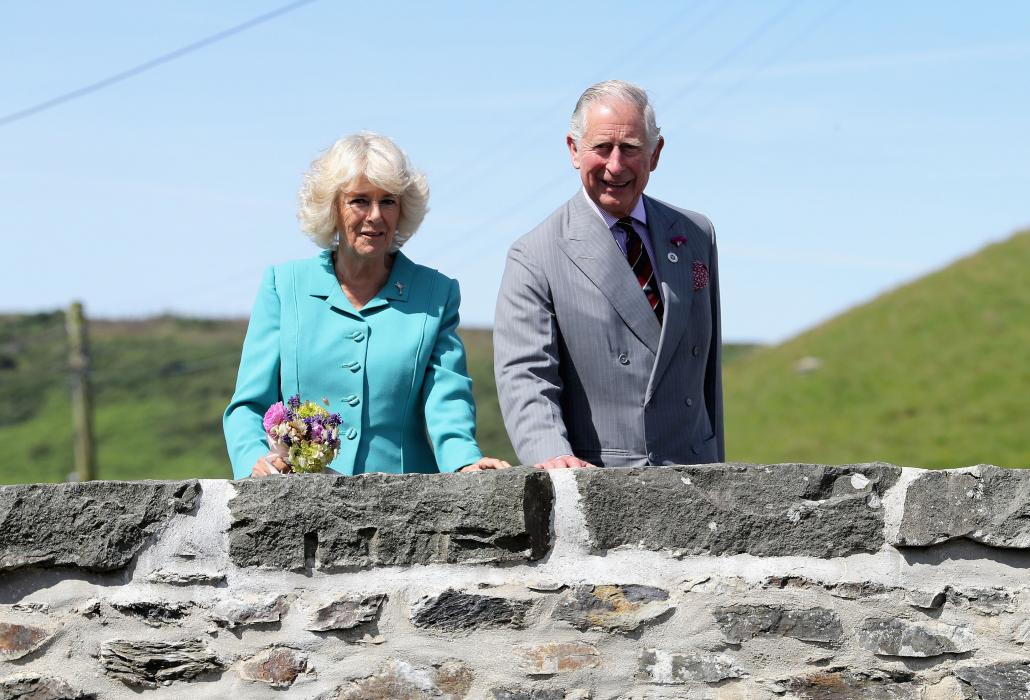 The Prince of Wales and The Duchess of Cornwall spend a second day in Wales