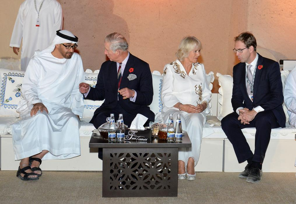 The Prince of Wales and The Duchess of Cornwall visit the United Arab Emirates