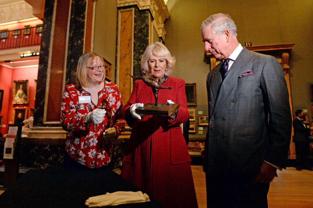 The Prince of Wales and The Duchess of Cornwall visit Cambridge