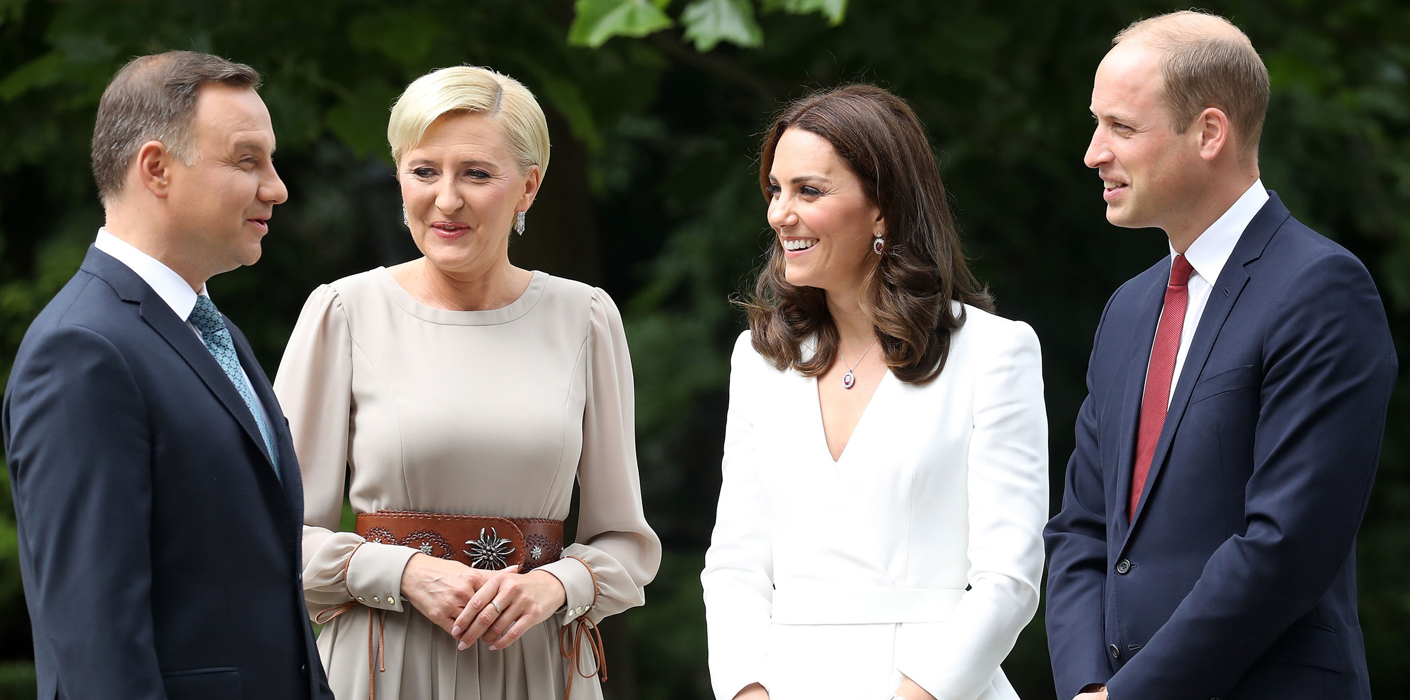 The Duke And Duchess Of Cambridge Visit Poland And Germany The