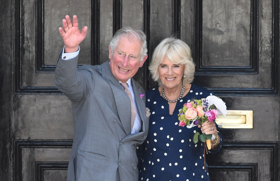 The Prince of Wales and The Duchess of Cornwall visit Salisbury