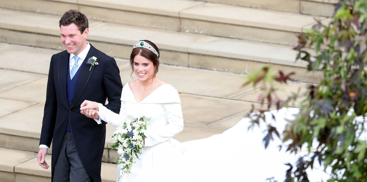 Princess Eugenie And Mr Jack Brooksbank S Wedding Day In Windsor
