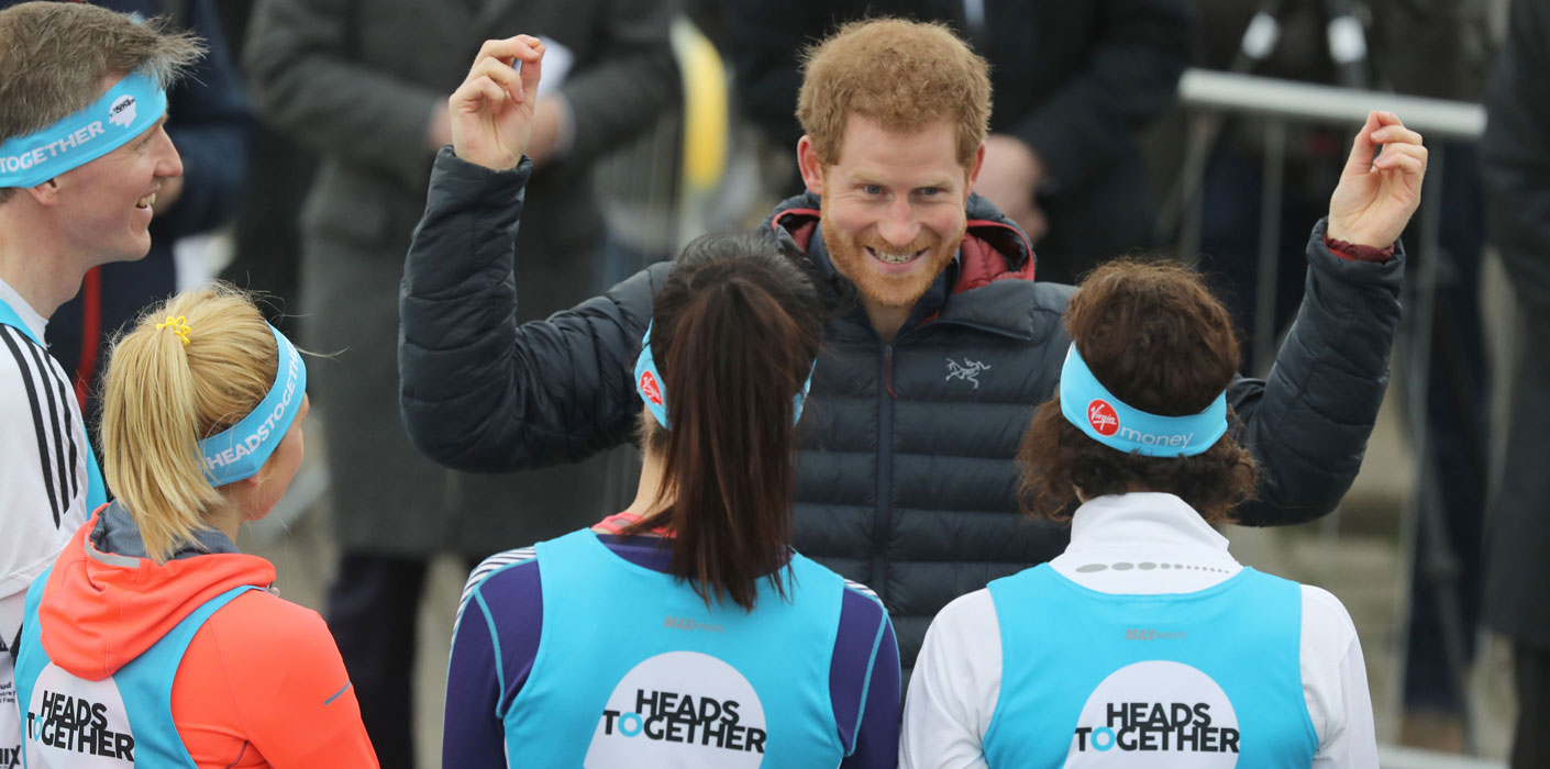 Prince Harry Visits Newcastle And Gateshead With Heads