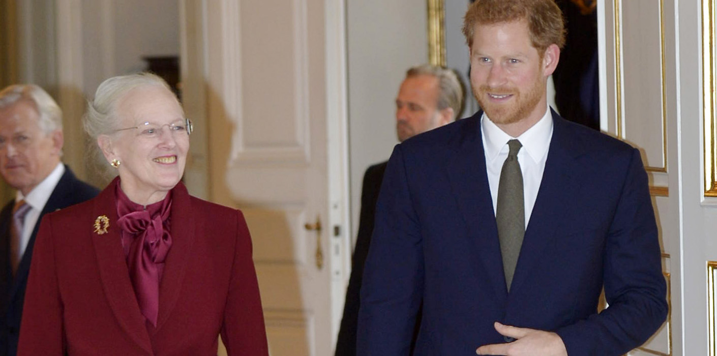 Prince harry visits denmark the royal family prince harry and queen margarethe ii sciox Image collections