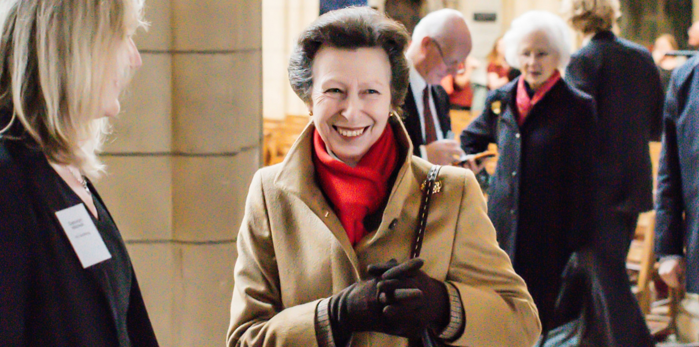 Princess Royal visits Cornwall