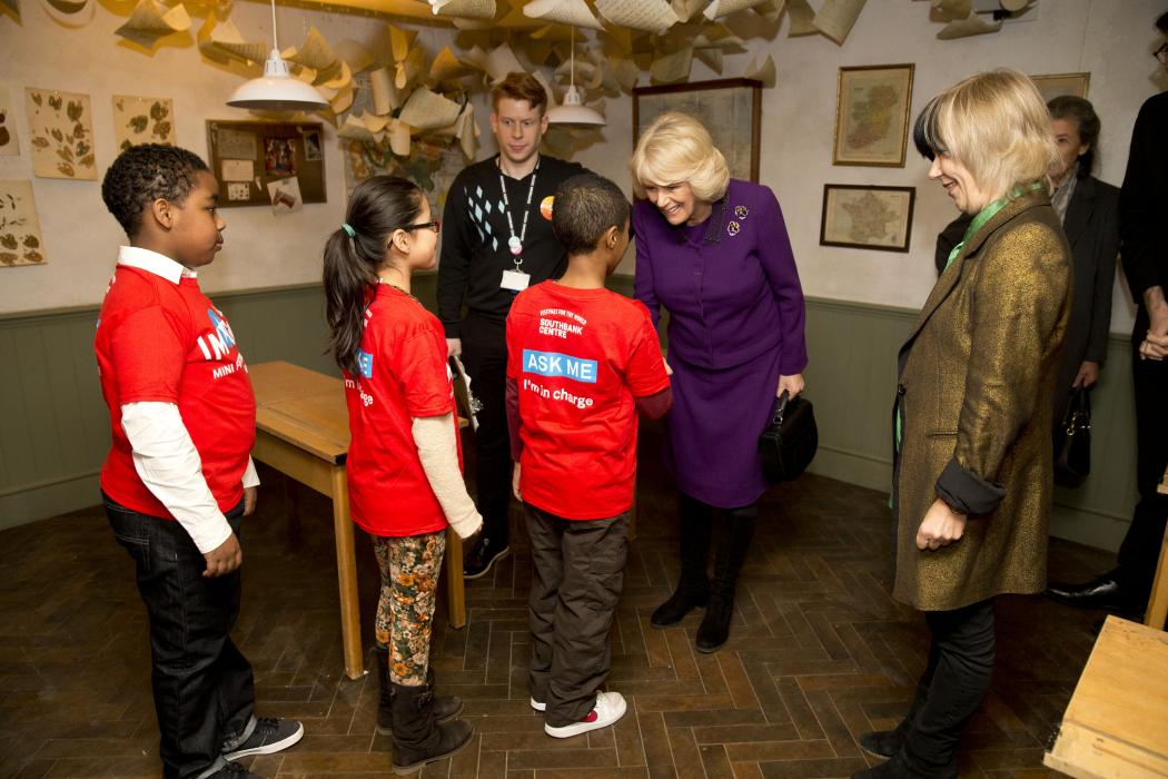 HRH meets children at the Imagine Children's Festival
