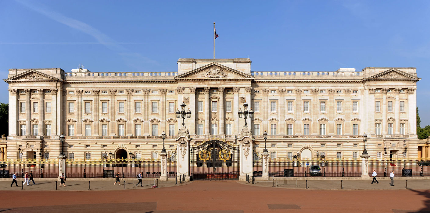 Rewiring of Buckingham Palace
