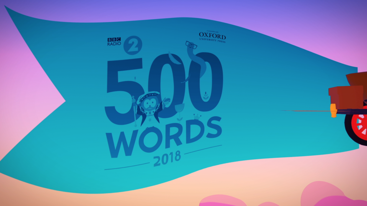 BBC Radio 2 500 Words short story competition 2018