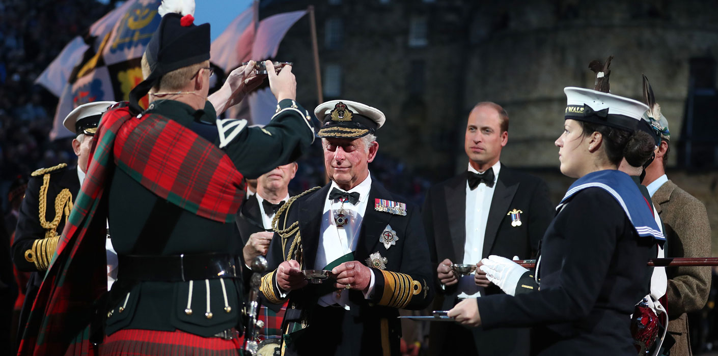 The Duke Of Rothesay The Duke Of Cambridge Attend The