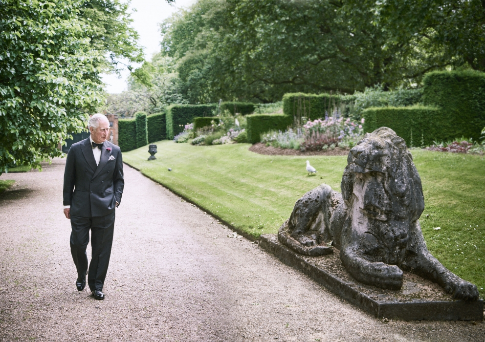 The Prince of Wales receives GQ Man of the Year Award