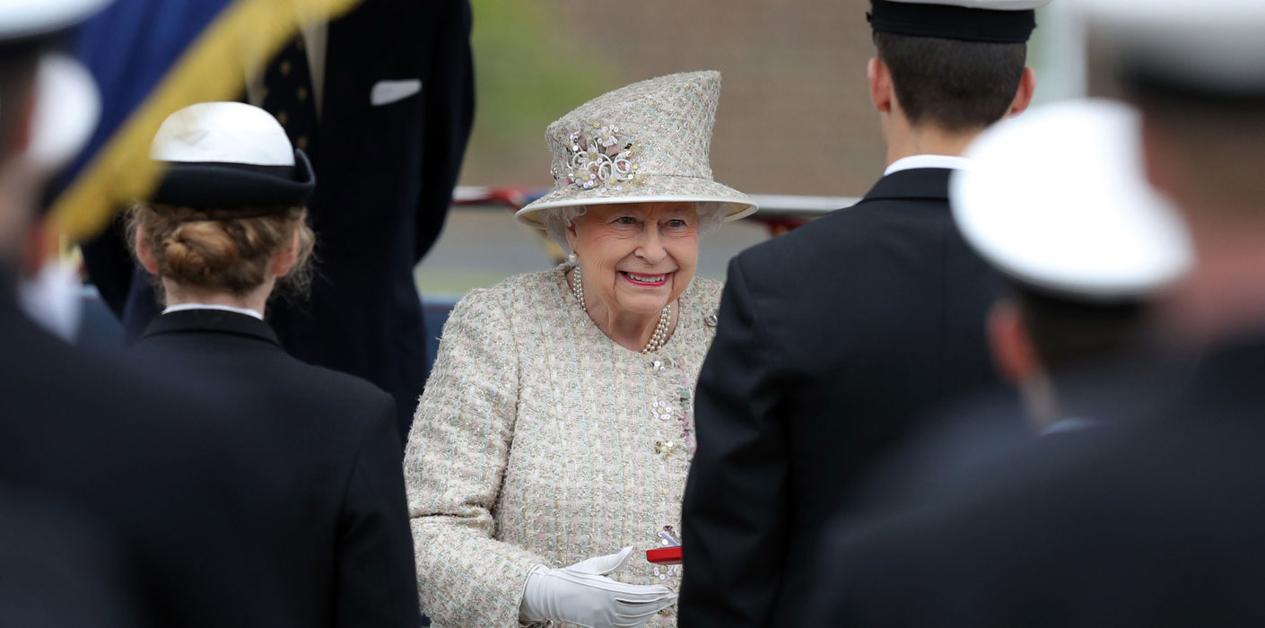The Queen at Pangbourne College 2017