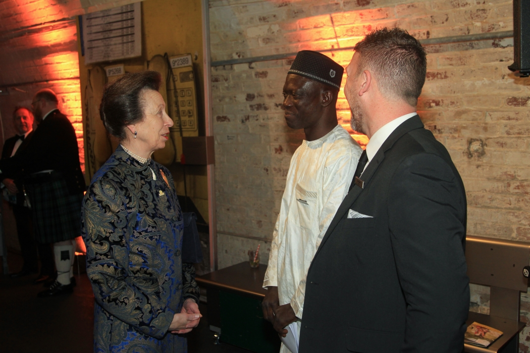 The Princess Royal attends the 20th Anniversary Reception for Transaid
