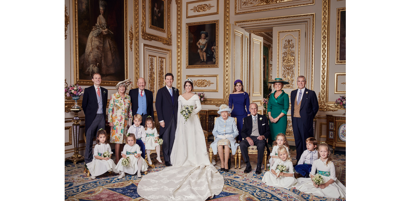 Official Photographs Released From Princess Eugenie And Jack