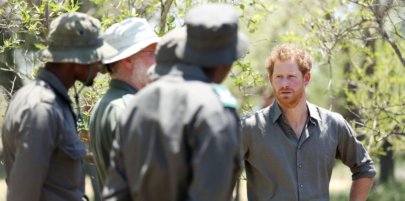 Prince Harry to work on conservation projects in southern Africa