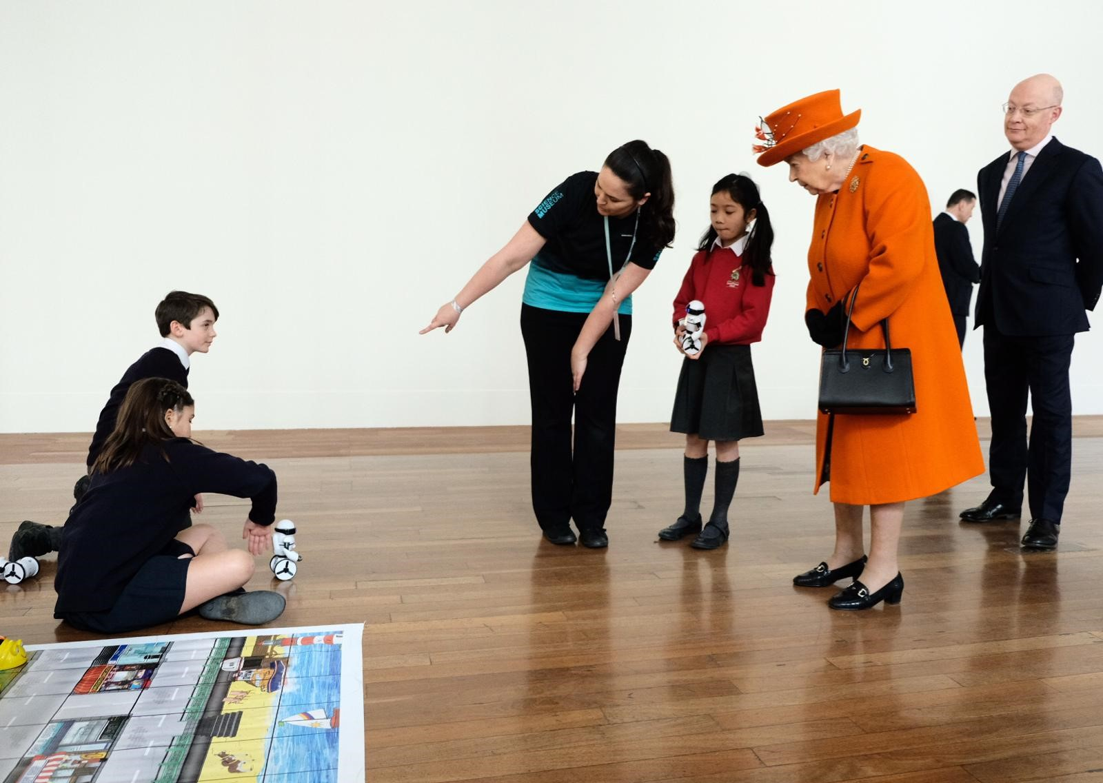 The Queen visits the science museum 2019