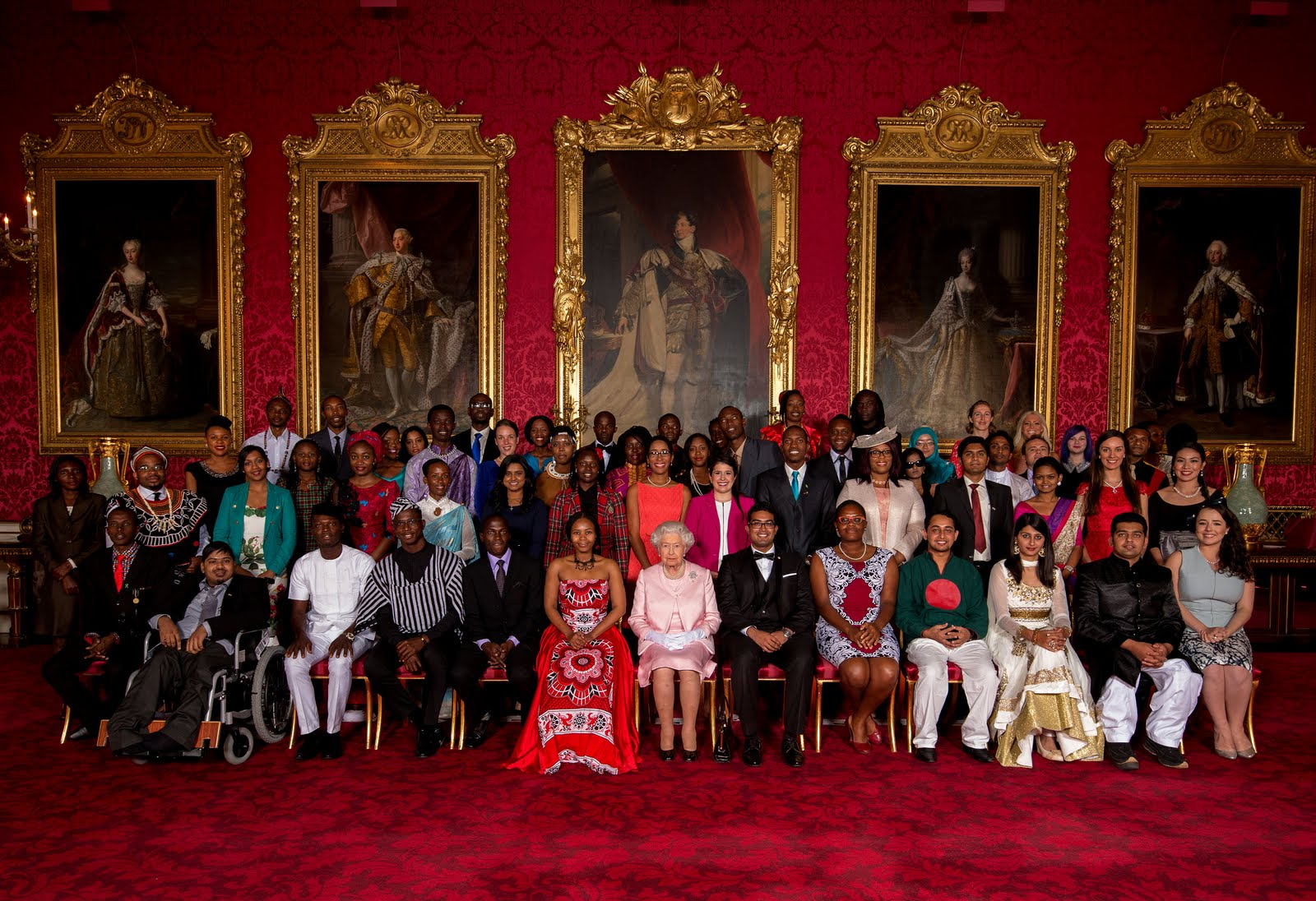 International Youth Day 2015 Queen's Young Leaders
