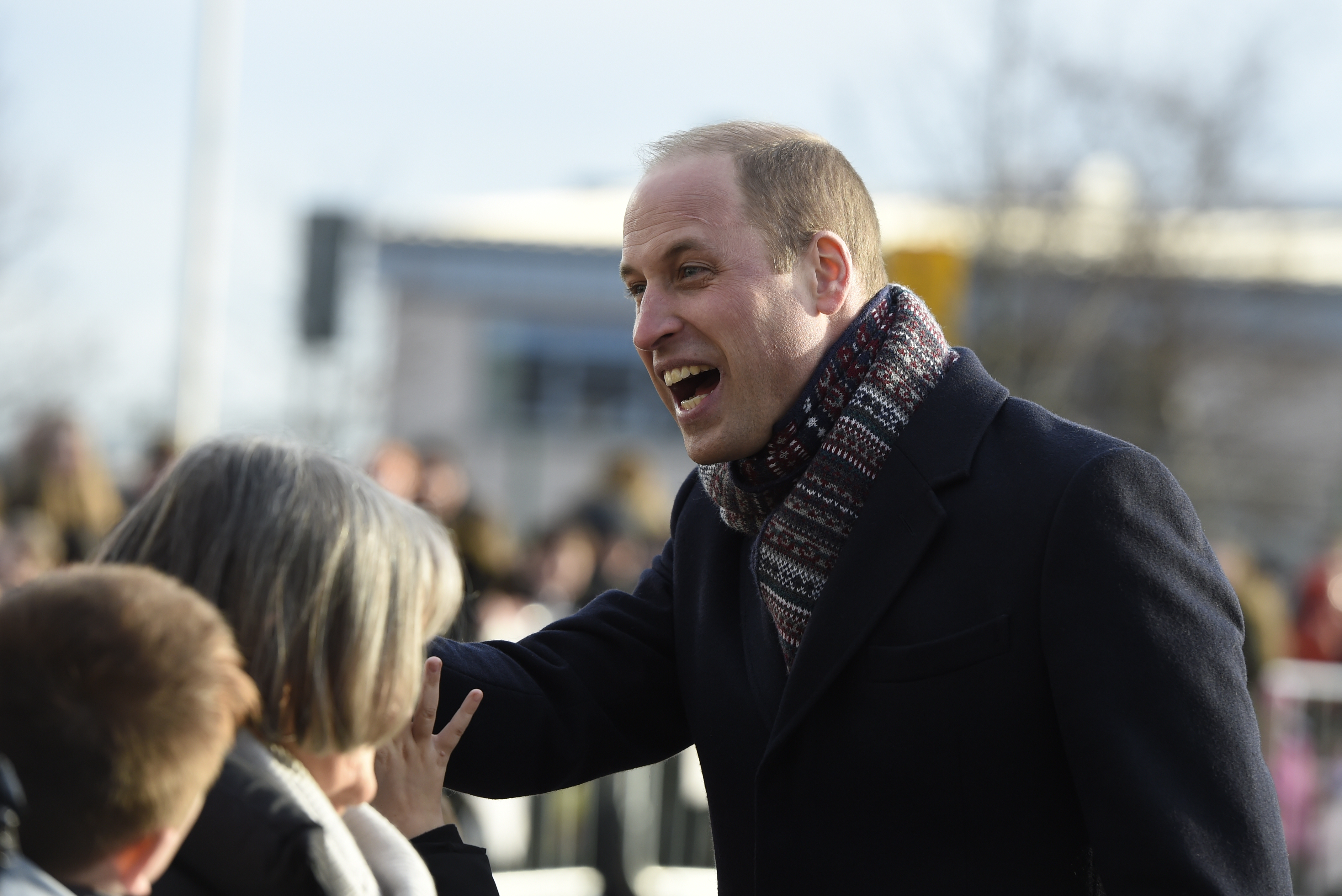 The Duke and Duchess of Cambridge at the V&A Dundee