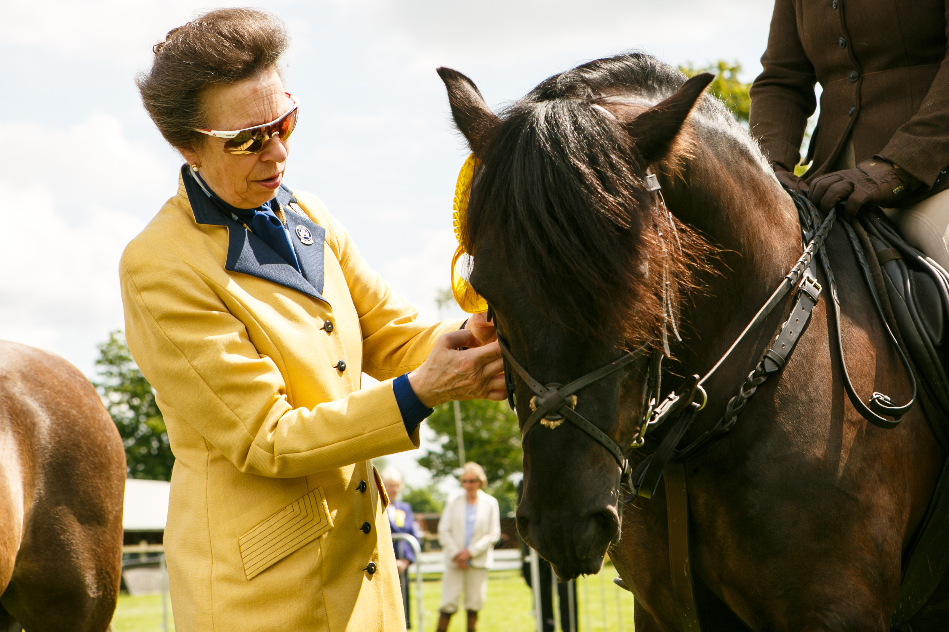 The Princess Royal at the Three Counties Show