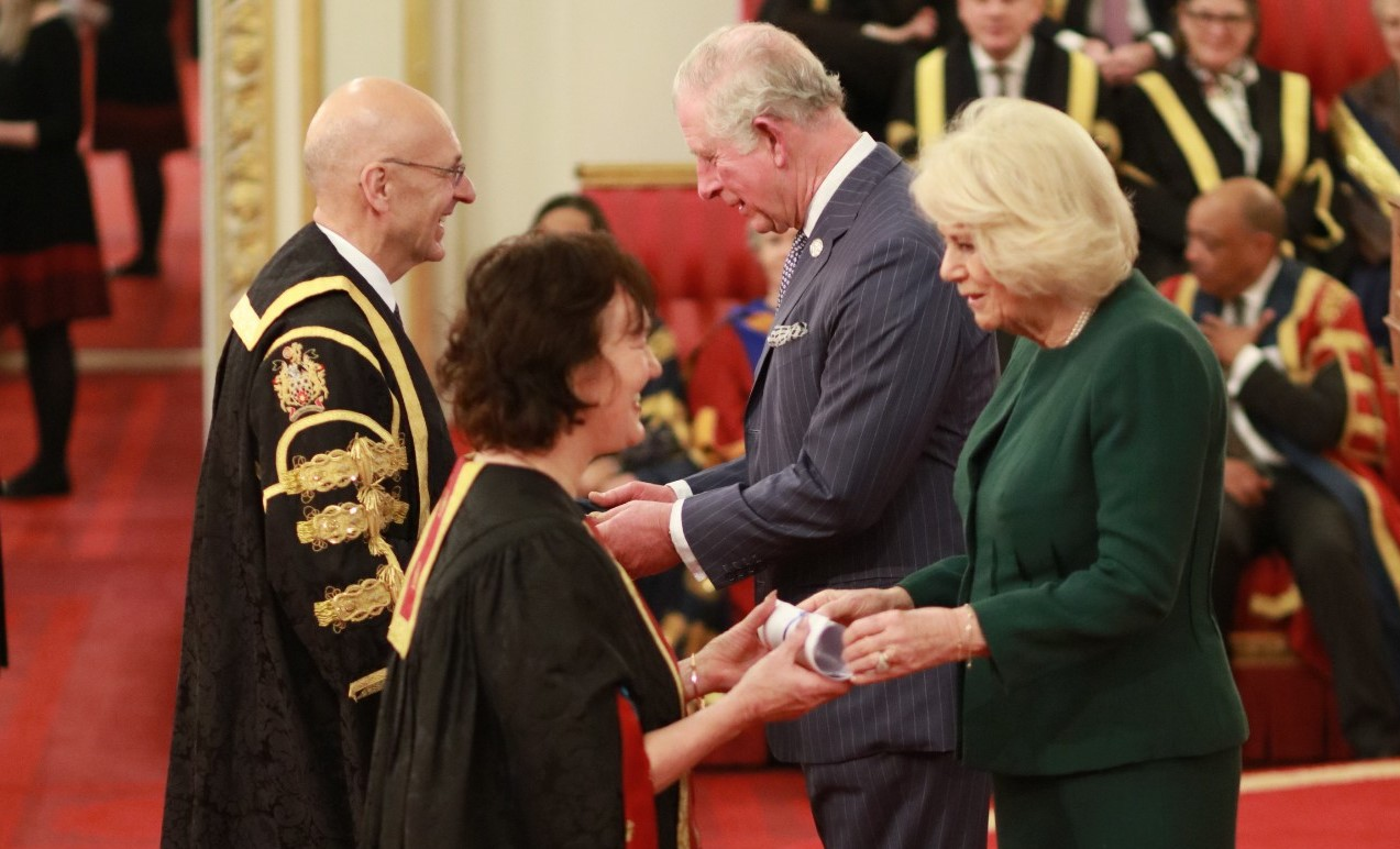 The Prince of Wales and The Duchess of Cornwall present Queen's Anniversary Prizes