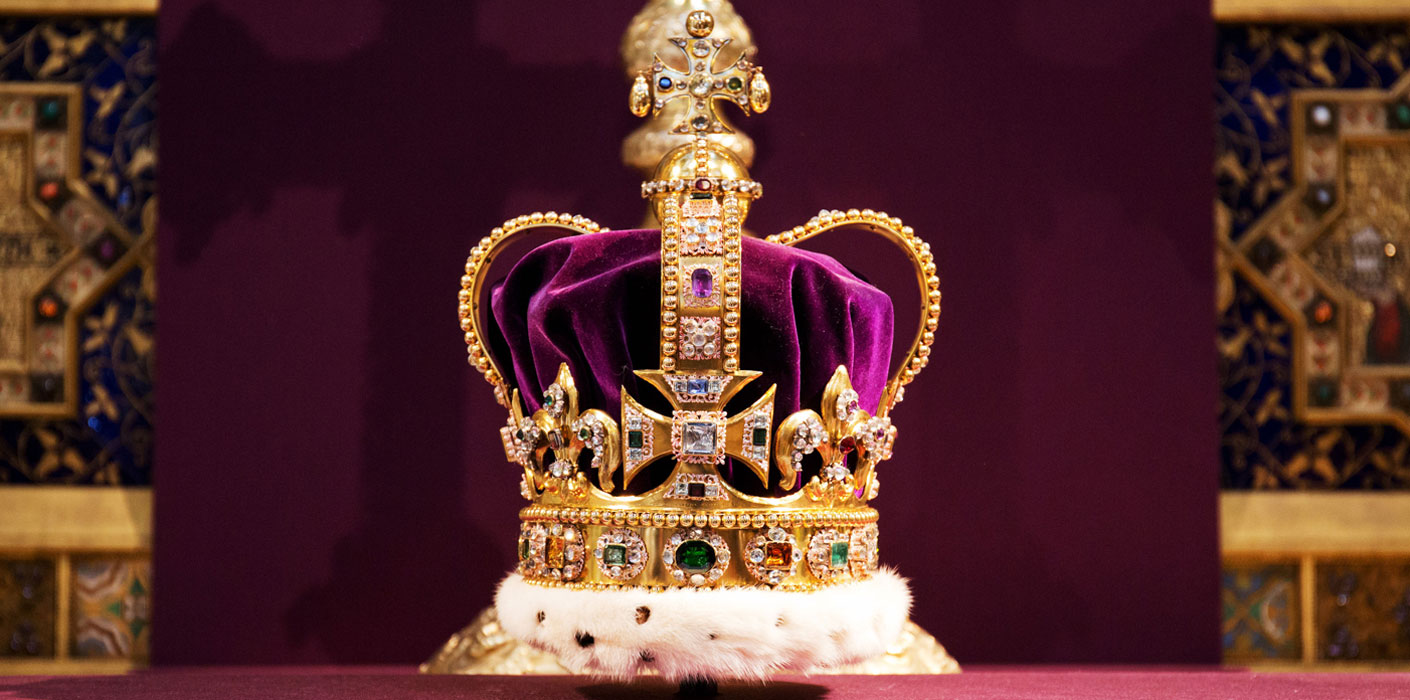 60th Anniversary of Queen Elizabeth II's Coronation - St Edward's Crown - Westminster Abbey, London
