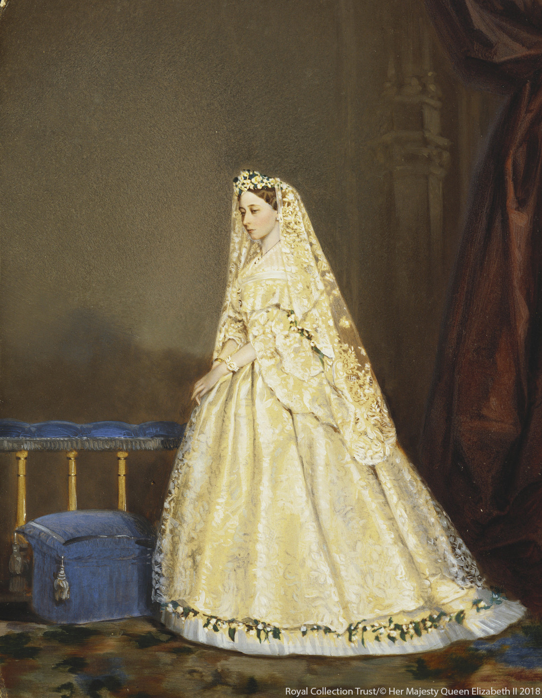 Princess Alice's Wedding Dress